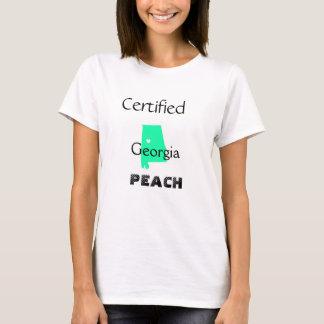 Persikakvinna grundläggande T-tröja T Shirt