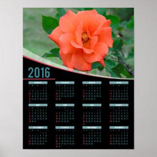 Persikan steg kalendern för 2016 affisch poster