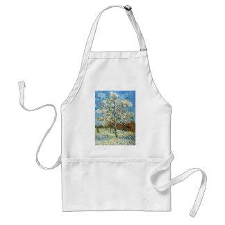 Persikaträd i blommar Vincent Van Gogh Förkläde
