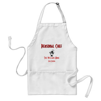 Personalizable personligt kockförkläde förkläden