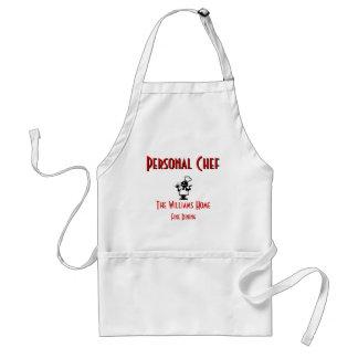 Personalizable personligt kockförkläde