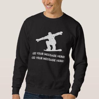 Personifiera det, Snowboarding Lång Ärmad Tröja