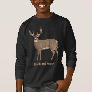 Personifiera din statliga jägare för bocken för tee shirt