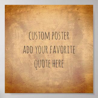 personifiera en beställnings- affisch tillfogar