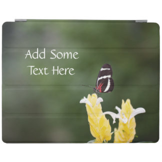 (Personifiera), fjärilen Perched på blomma iPad Skydd