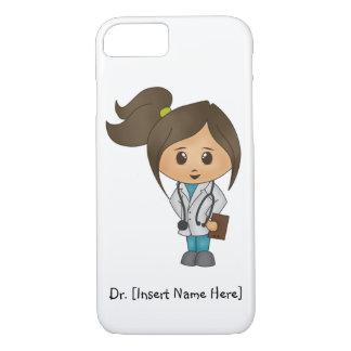 Personifiera kvinnlig doktoriPhone 7 för den