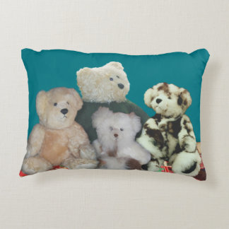 personalize teddy bears pillow v1
