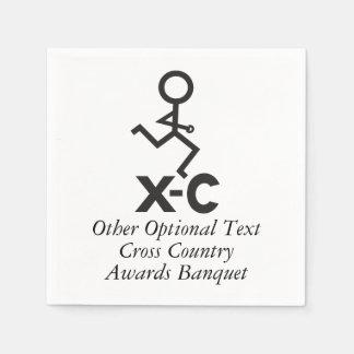Personifierad cross country springer XC Servett