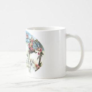 "Personifierad ""Emily"" design Kaffemugg"