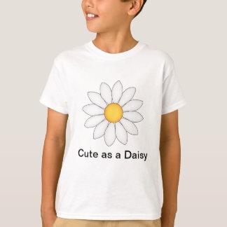 Personifierad gullig daisy tee