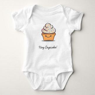 """Personifierad """"Hey muffin!"""", Gulligt bekläda för T Shirts"""