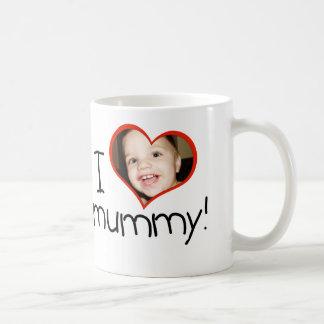 """Personifierad """"mig *heart*mamma"""" mugg"""