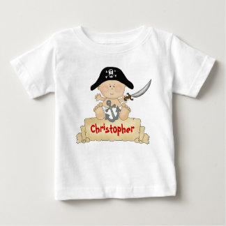Personifierade gulliga babypiratpojkar t-shirt