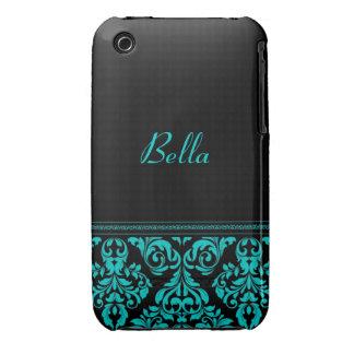 Personifierat damastast designblackberry Case-Mate iPhone 3 cases