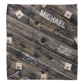 Personifierat industriellt lantligt trä scarf