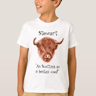 Personifierat namn som så är skotskt som en t-shirts