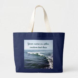 Personifierat nautiskt för hav vatten jumbo tygkasse