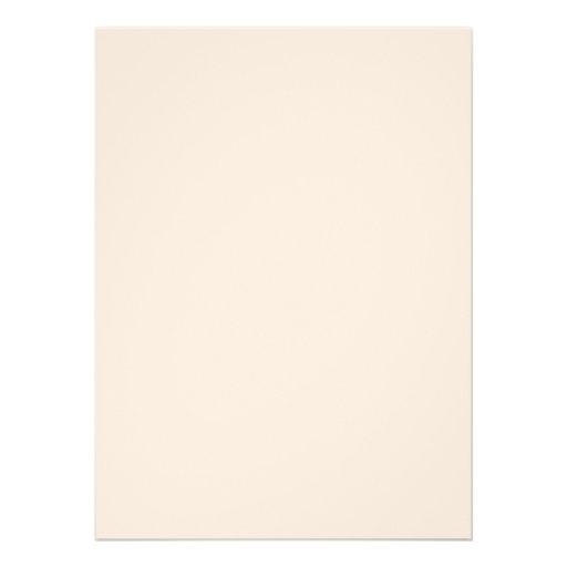 Personlig 14 x 19 cm Inbjudningskort
