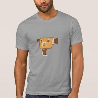 Personlig för filmskaparefilmkamera tee shirt