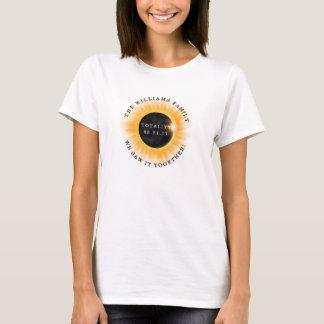 Personlig för förmörkelse för familjTotality sol- Tröjor