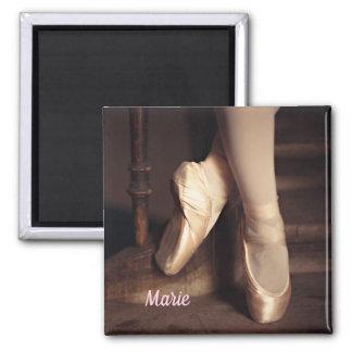 Personlig för högläsning för balettBallerinadans Magnet