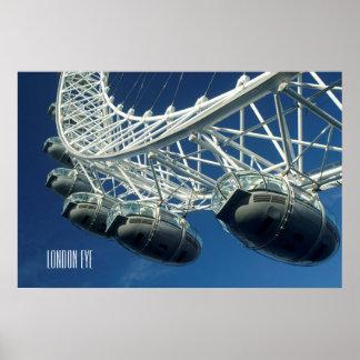Personlig för London ögapariserhjul Poster