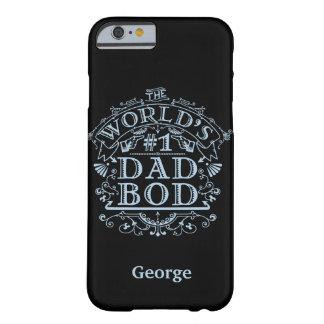 Personlig för vintage för fäder för pappaBodhumor Barely There iPhone 6 Fodral