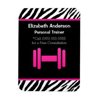 Personlig instruktör för moderiktig rosa och svart magnet