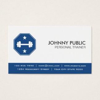 Personlig instruktör - yrkesmässig visitkort