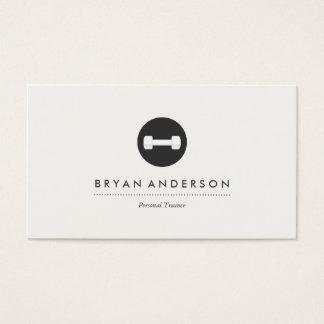 Personlig instruktörlogotypvisitkort visitkort