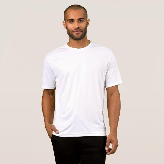 Sport-Tek Competitor T-Shirt, Herr, Vit