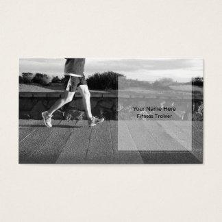 Personlig mall för konditioninstruktörvisitkort visitkort