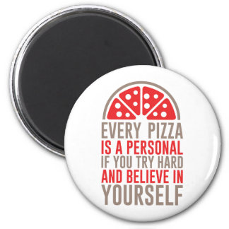 Personlig Pizza Magnet