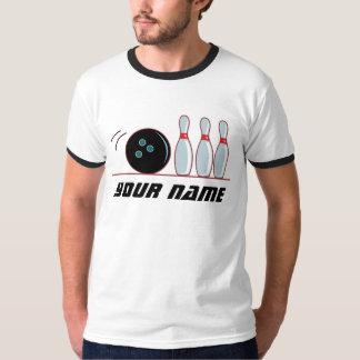 Personlig som bowlar T-skjortan T-shirts