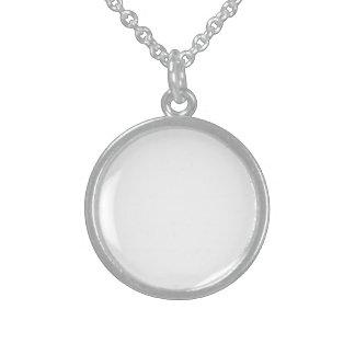Personlig Sterling Silver Halsband