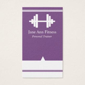 Personliga lilor för instruktörkonditionvisitkort visitkort