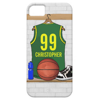 Personligbasket Jersey (GY) iPhone 5 Case-Mate Cases