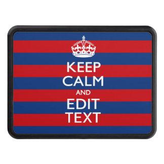 PersonligBEHÅLLALUGN din text på randar Skydd För Dragkrok