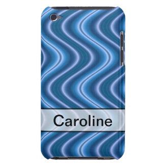 Personligblått vinkar design iPod touch Case-Mate skydd