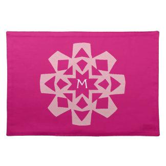 Personligbordstablett - rosa Snowflake Bordstablett
