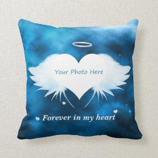 Personligdekorativ kudde - ängel av hjärtan
