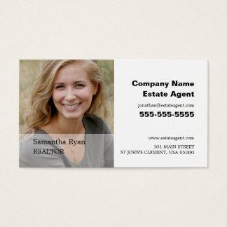 Personligen fotograferar, fastighetsmäklare, visitkort