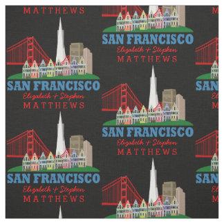 Personligen namnger San Francisco horisont Tyg