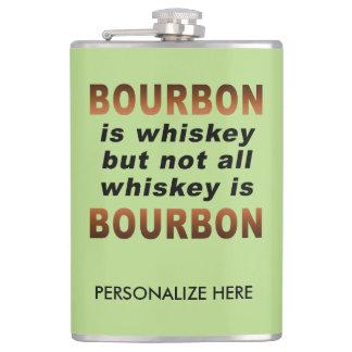PERSONLIGFLASKA - inte all Whiskey är BOURBON! Fickplunta