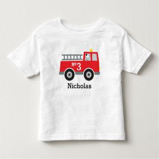 Personligfödelsedagen avfyrar lastbilen t shirts