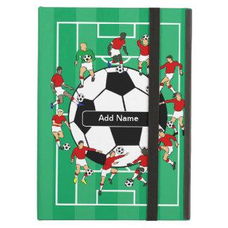 Personligfotbollfotboll Fodral För iPad Air