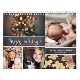 Personligglad helg, nytt år, foto kalender