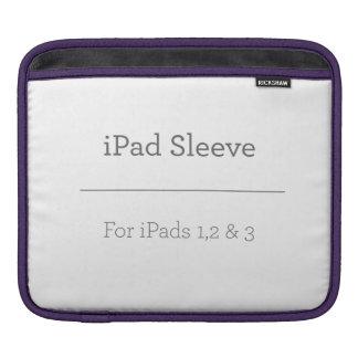 Personligipad sleeve sleeve för iPads