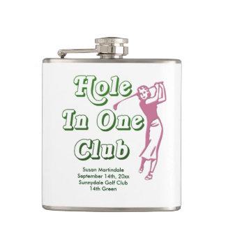 Personligkvinna Memento för hole in one för Golf Fickplunta