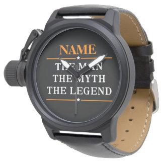 Personlignamn manen mythen legenden armbandsur